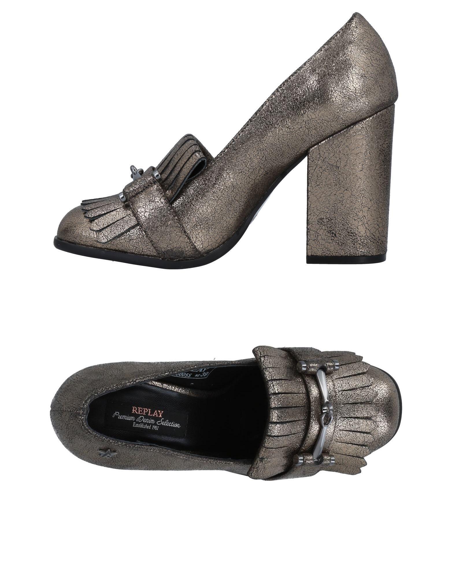 Haltbare Mode billige Schuhe Replay Mokassins Damen  11493219PF Heiße Schuhe
