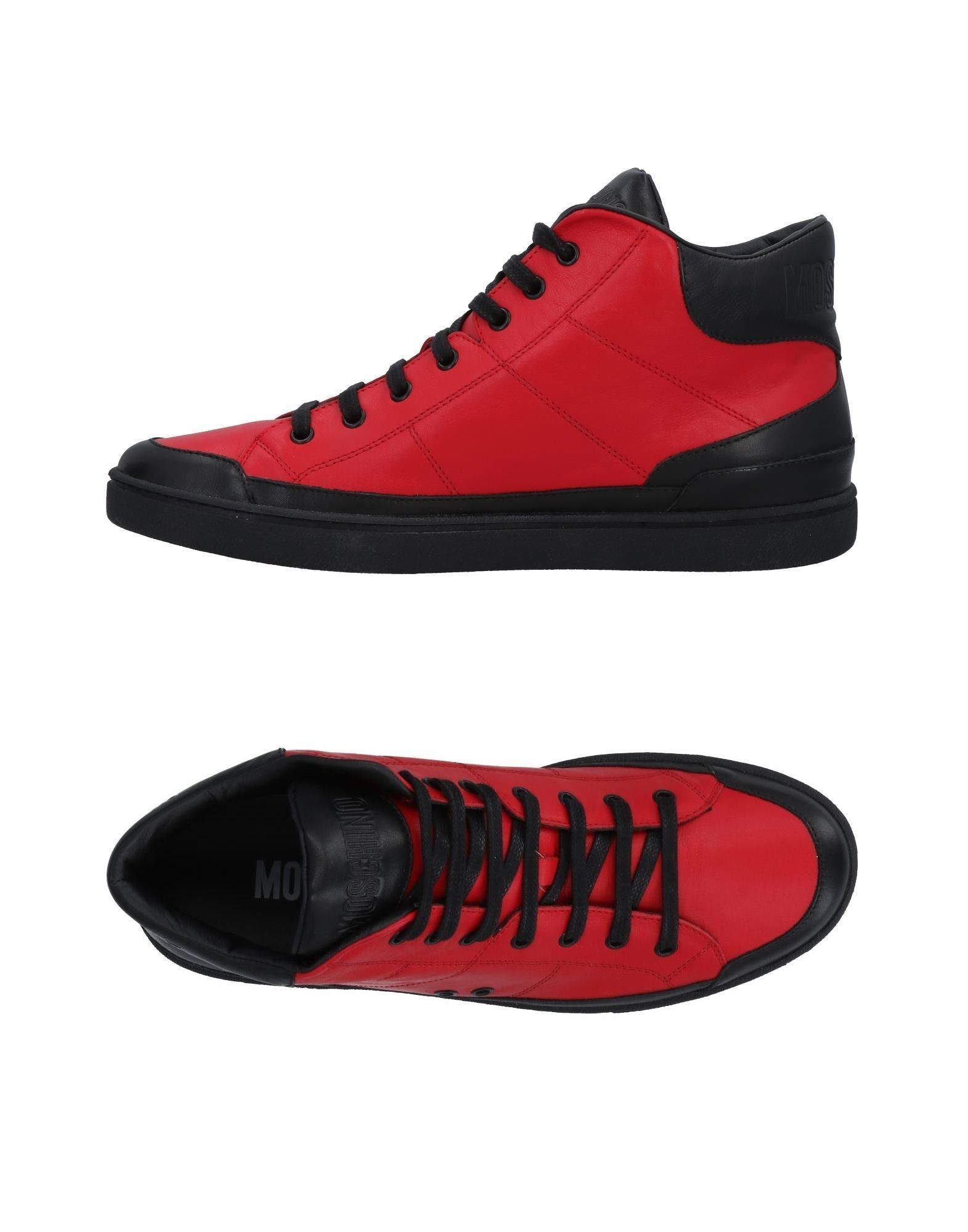 Sneakers Moschino Homme - Les Sneakers Moschino  Rouge Les - chaussures les plus populaires pour les hommes et les femmes f15bff
