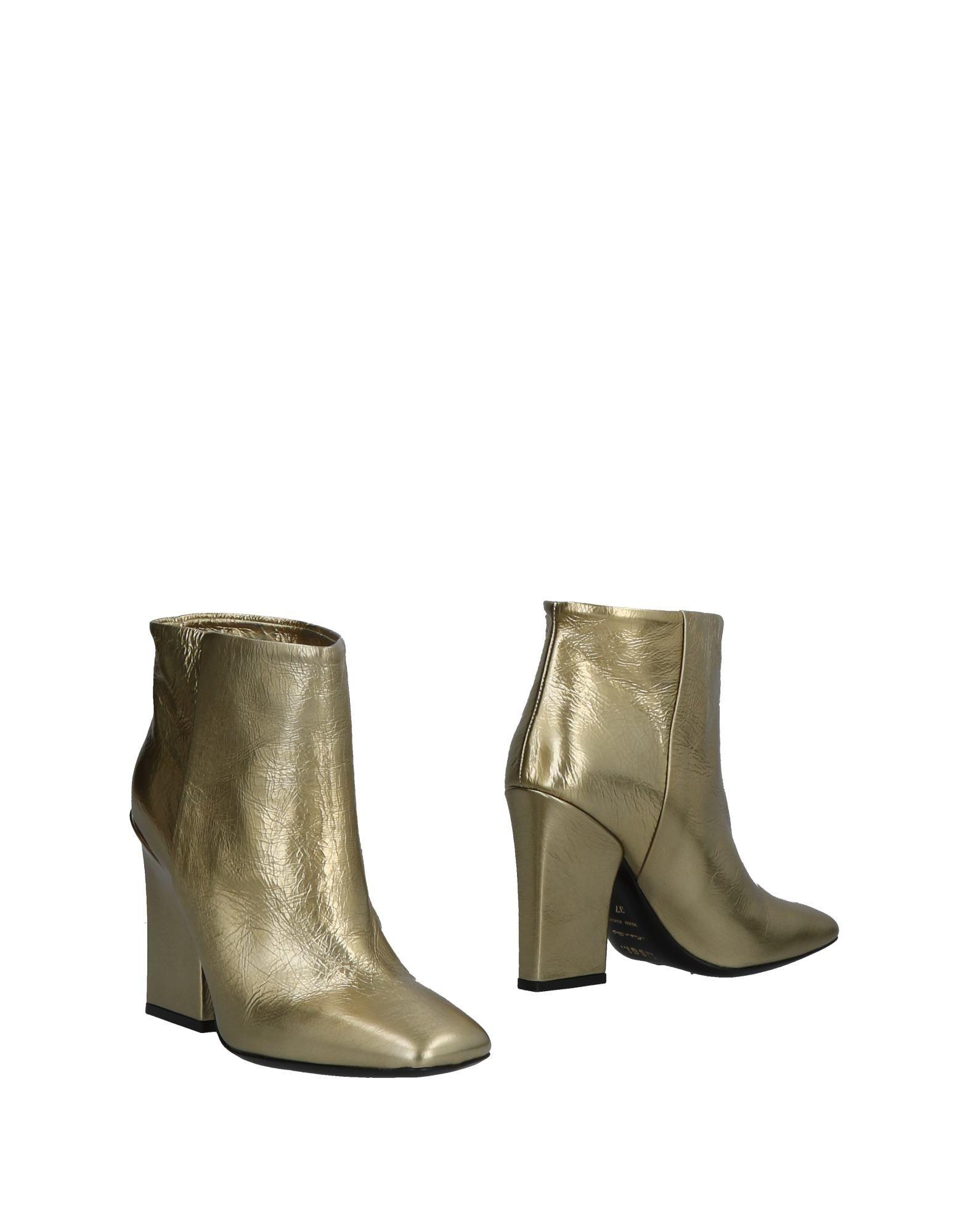 Bottine Msgm Femme - Bottines Msgm Bronze Nouvelles chaussures pour hommes et femmes, remise limitée dans le temps