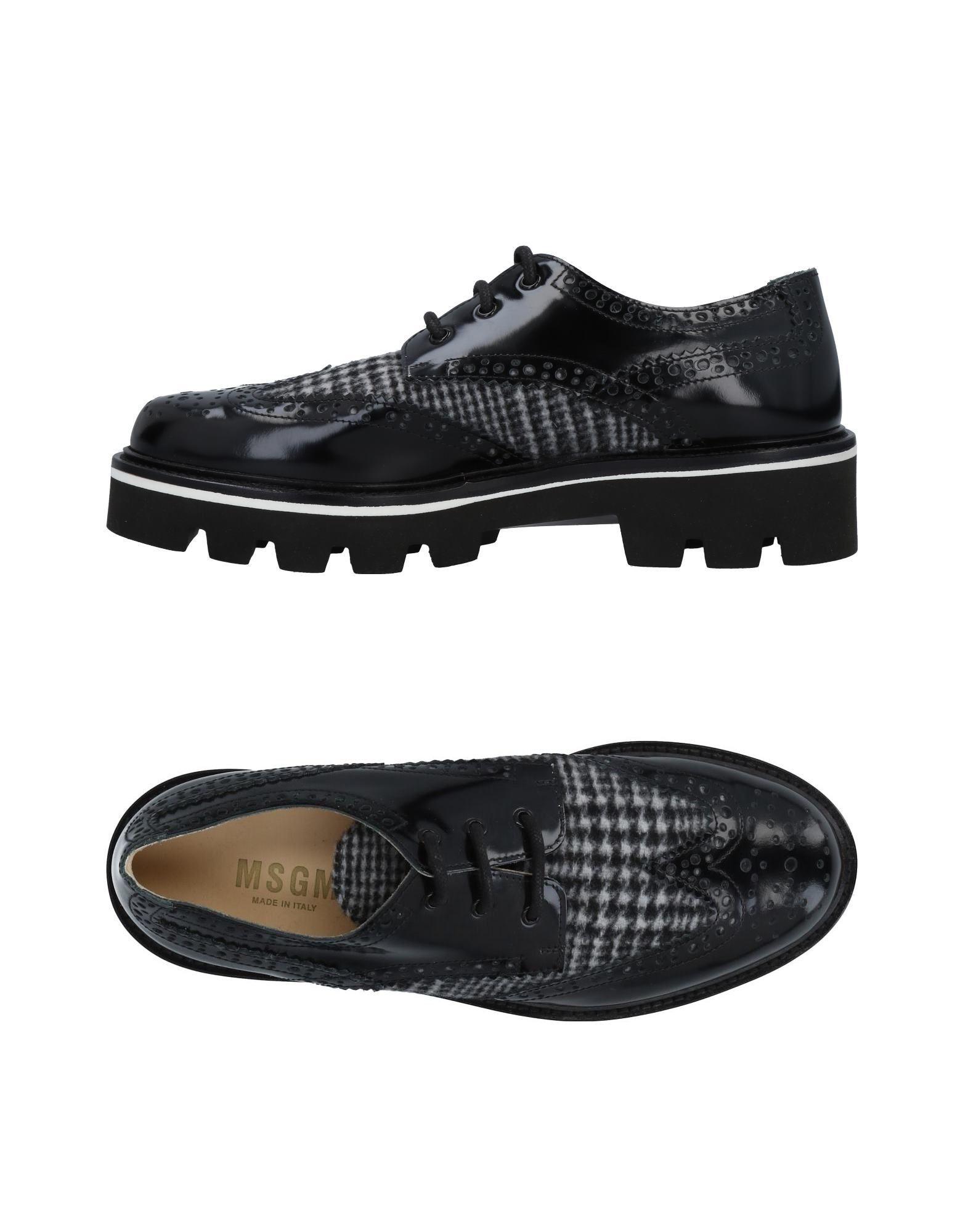 Msgm Schnürschuhe Damen  11493485AGGut aussehende strapazierfähige Schuhe