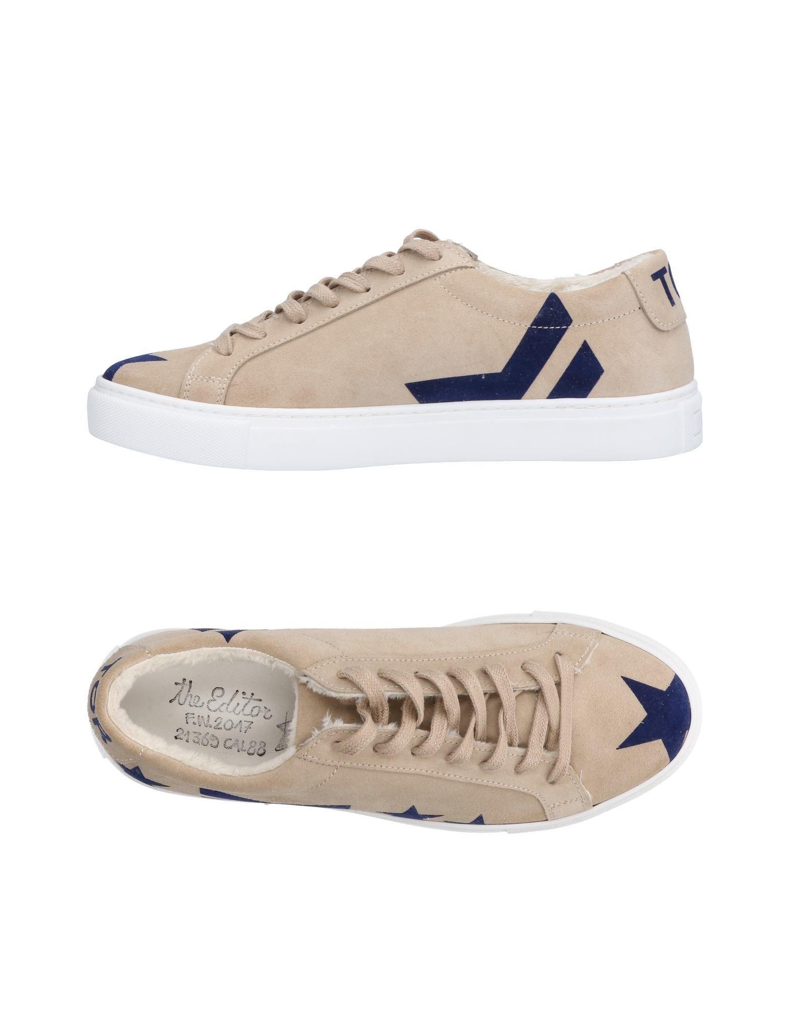 Rabatt echte Schuhe The Editor Sneakers Herren  11493546QL