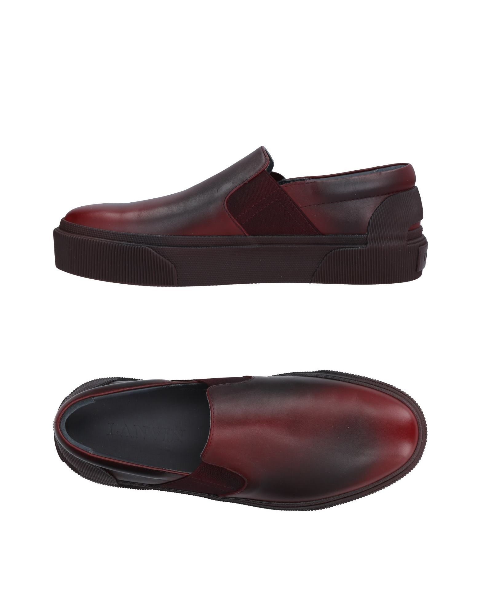 Lanvin Sneakers - Men Lanvin Sneakers online - on  United Kingdom - online 11493569IL a31ee7