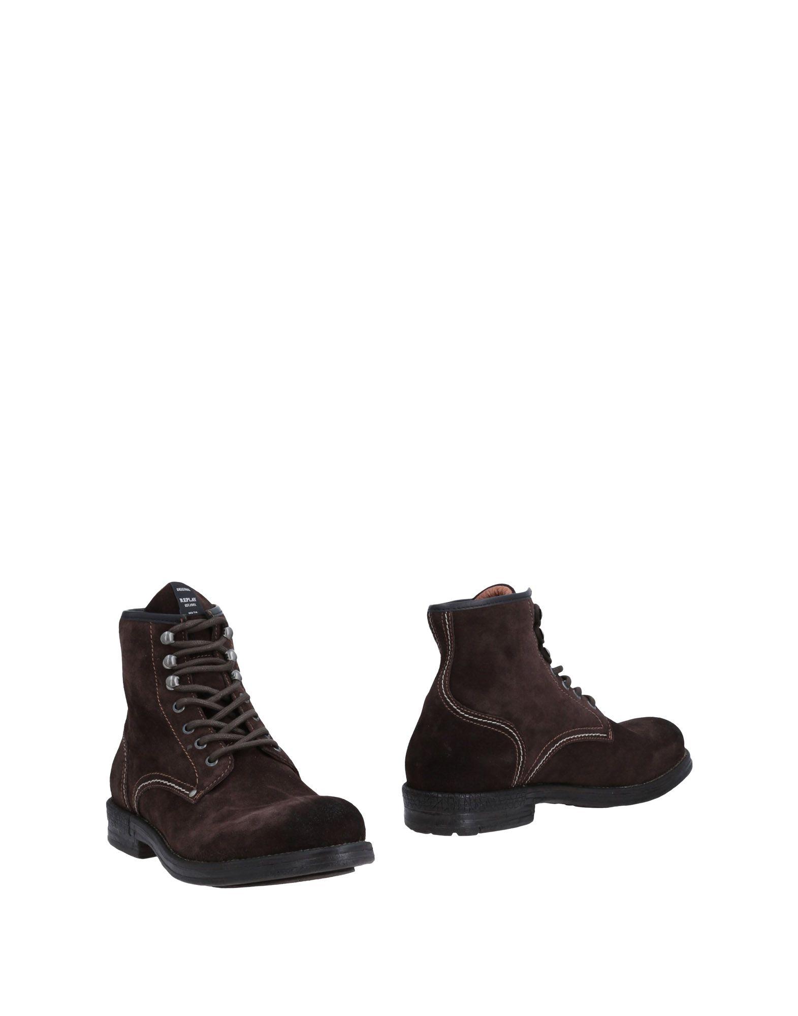 Rabatt echte Schuhe Replay Stiefelette Herren  11493579PL