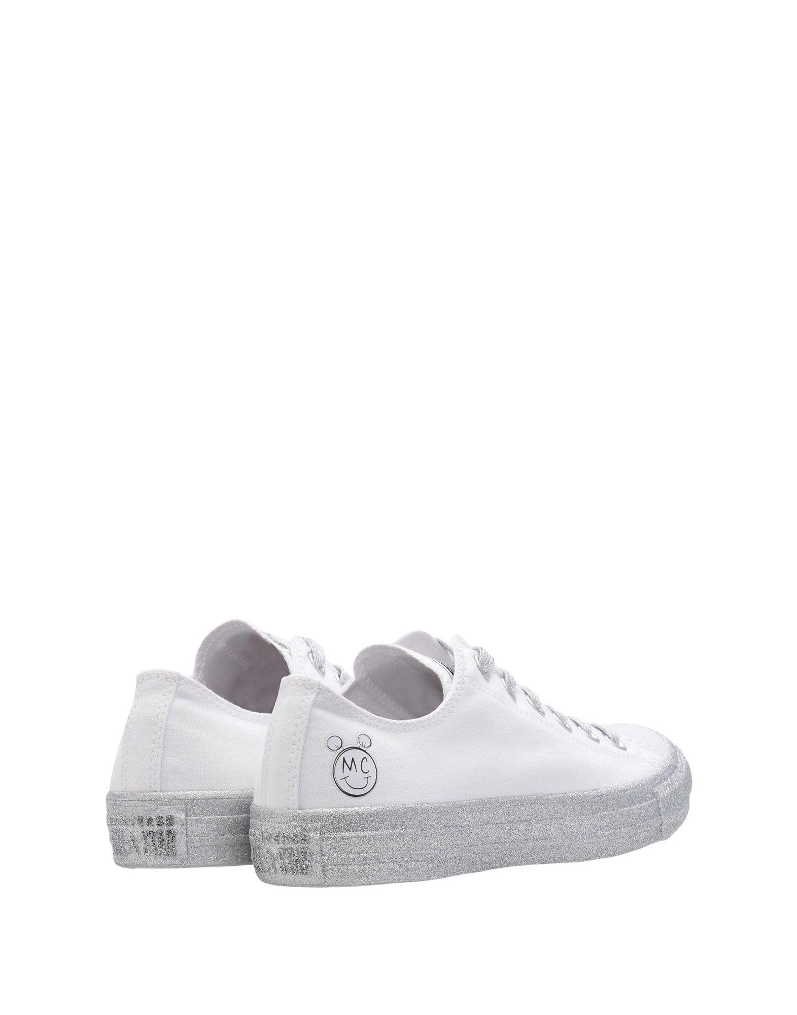 Sneakers Converse X Miley Cyrus Ctas Ox White/Pure 11493630FU Platinum/Black - Donna - 11493630FU White/Pure 899914