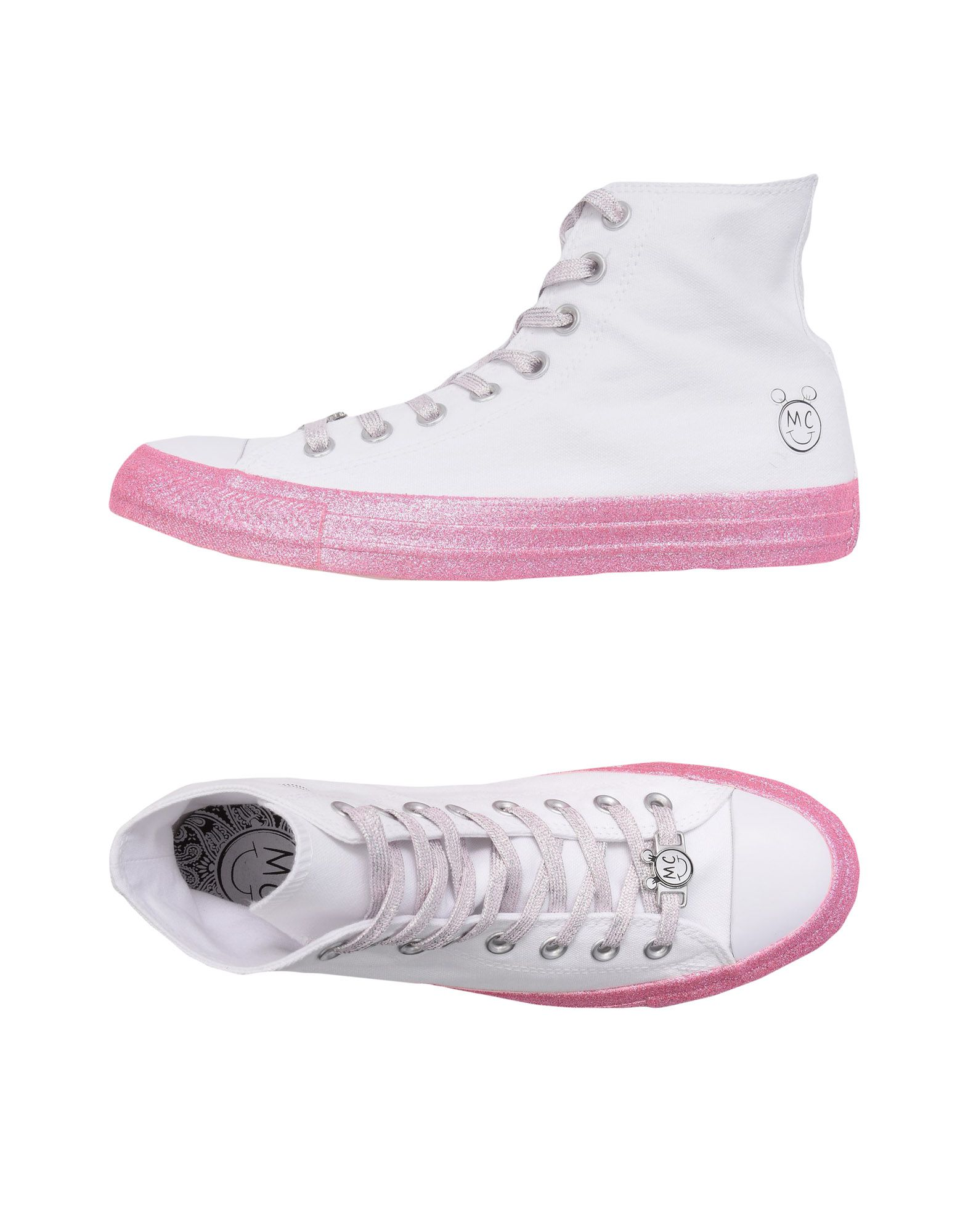 Sneakers Converse X Miley Cyrus Ctas Hi White/Pink Dogwood/Black - Donna - 11493830BJ