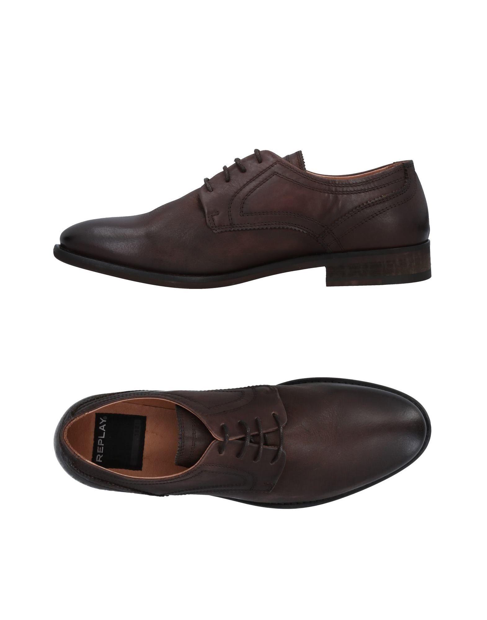 Rabatt echte Schuhe Replay Schnürschuhe Herren  11493950DO
