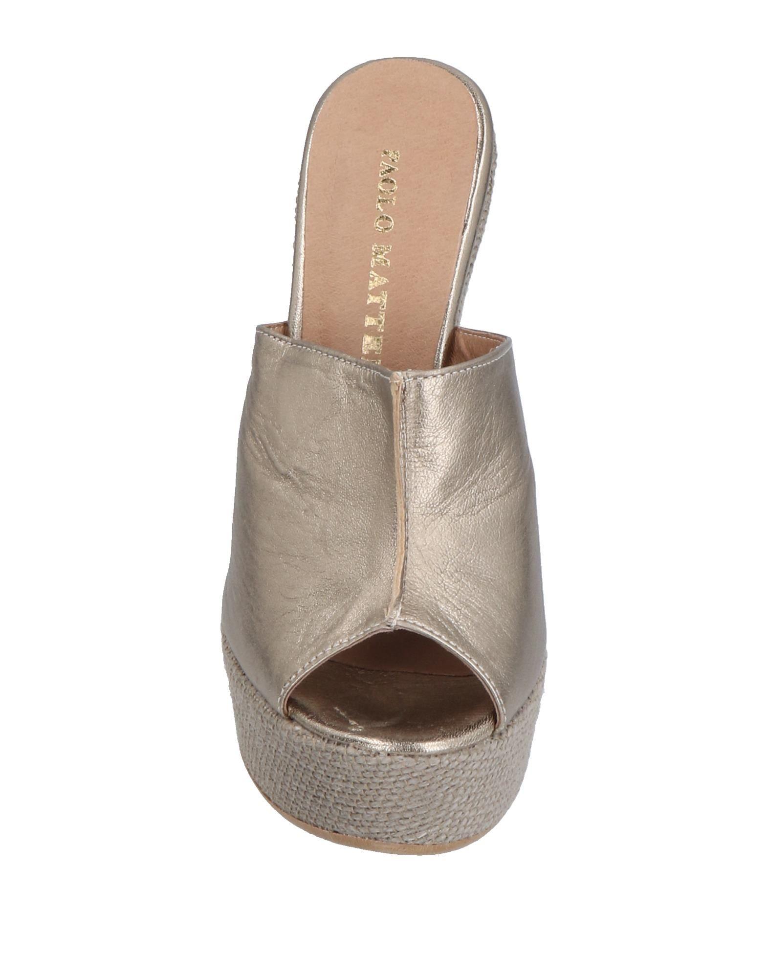 Stilvolle billige Schuhe Paolo 11493956HX Mattei Sandalen Damen  11493956HX Paolo 07721a