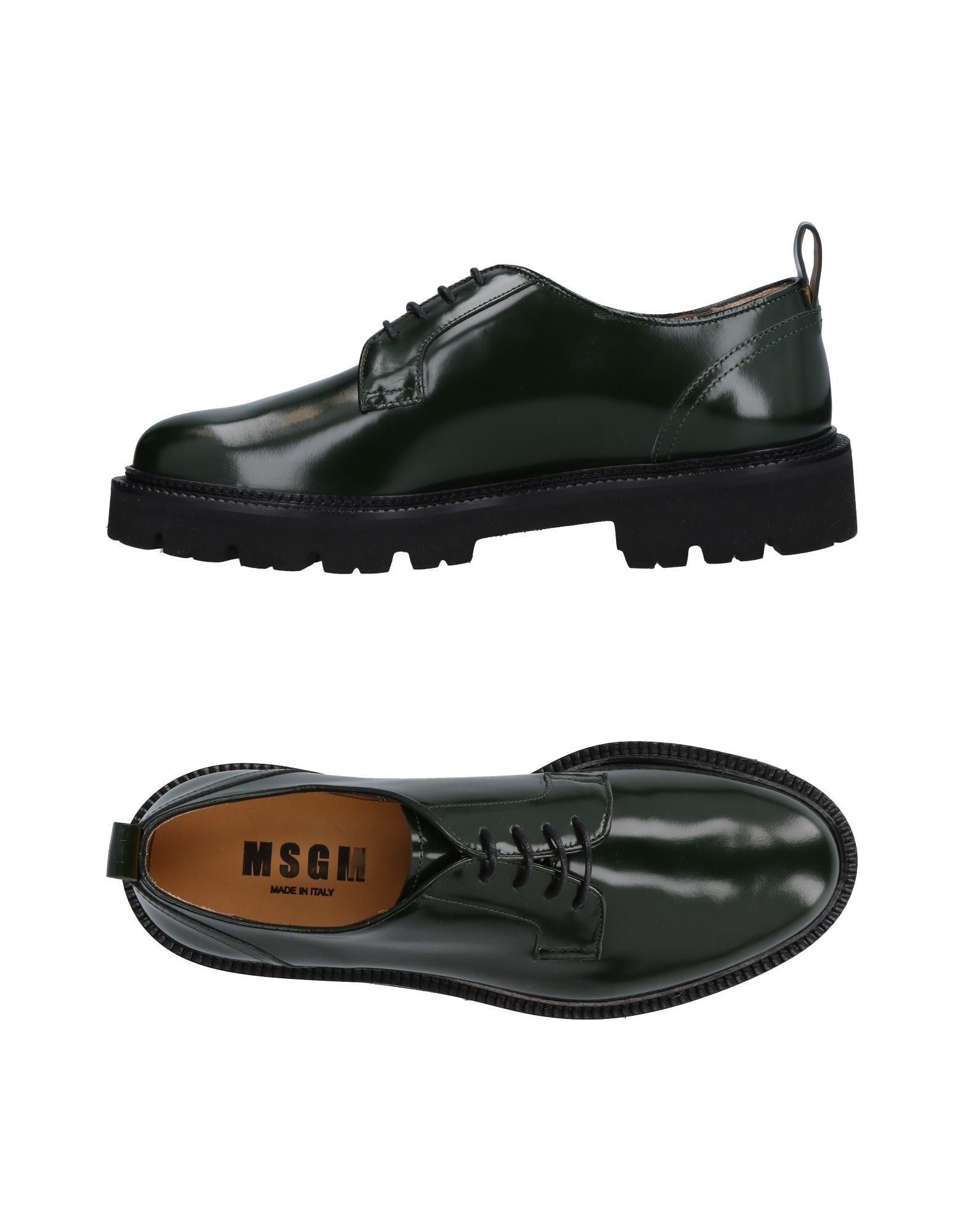 Haltbare Mode billige Schuhe Msgm Schnürschuhe Herren  11494036WV Heiße Schuhe