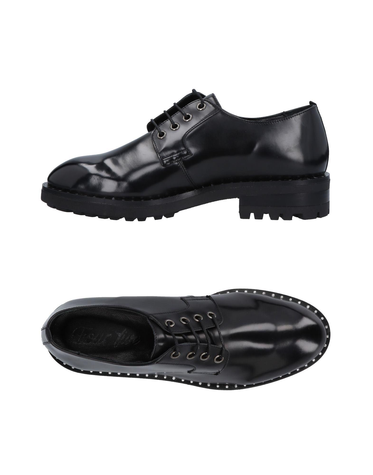 Four Five Schnürschuhe Damen  11494302FV Gute Qualität beliebte Schuhe
