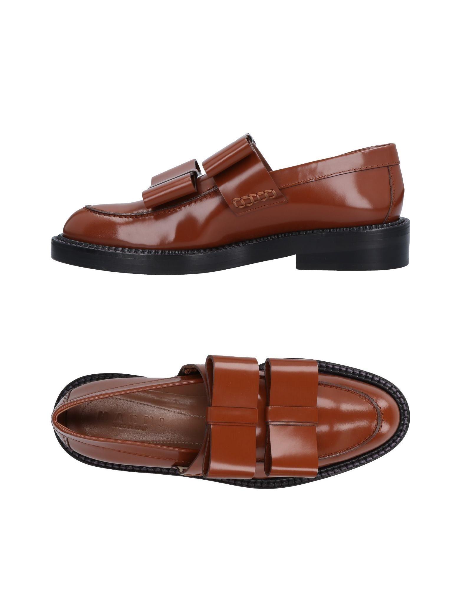 Rabatt Schuhe Marni Mokassins Damen  11494476UA