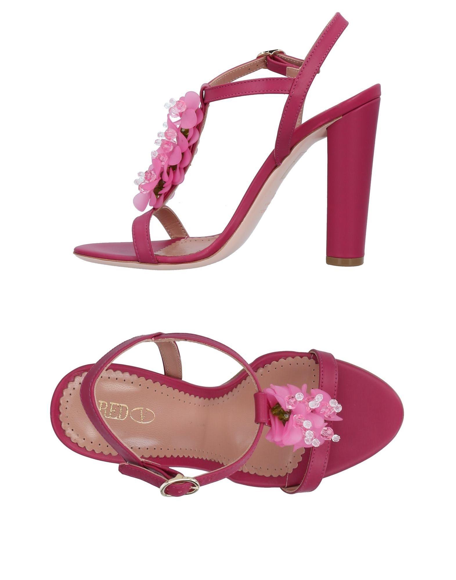 Moda Sandali Red(V) Donna - 11494495DJ