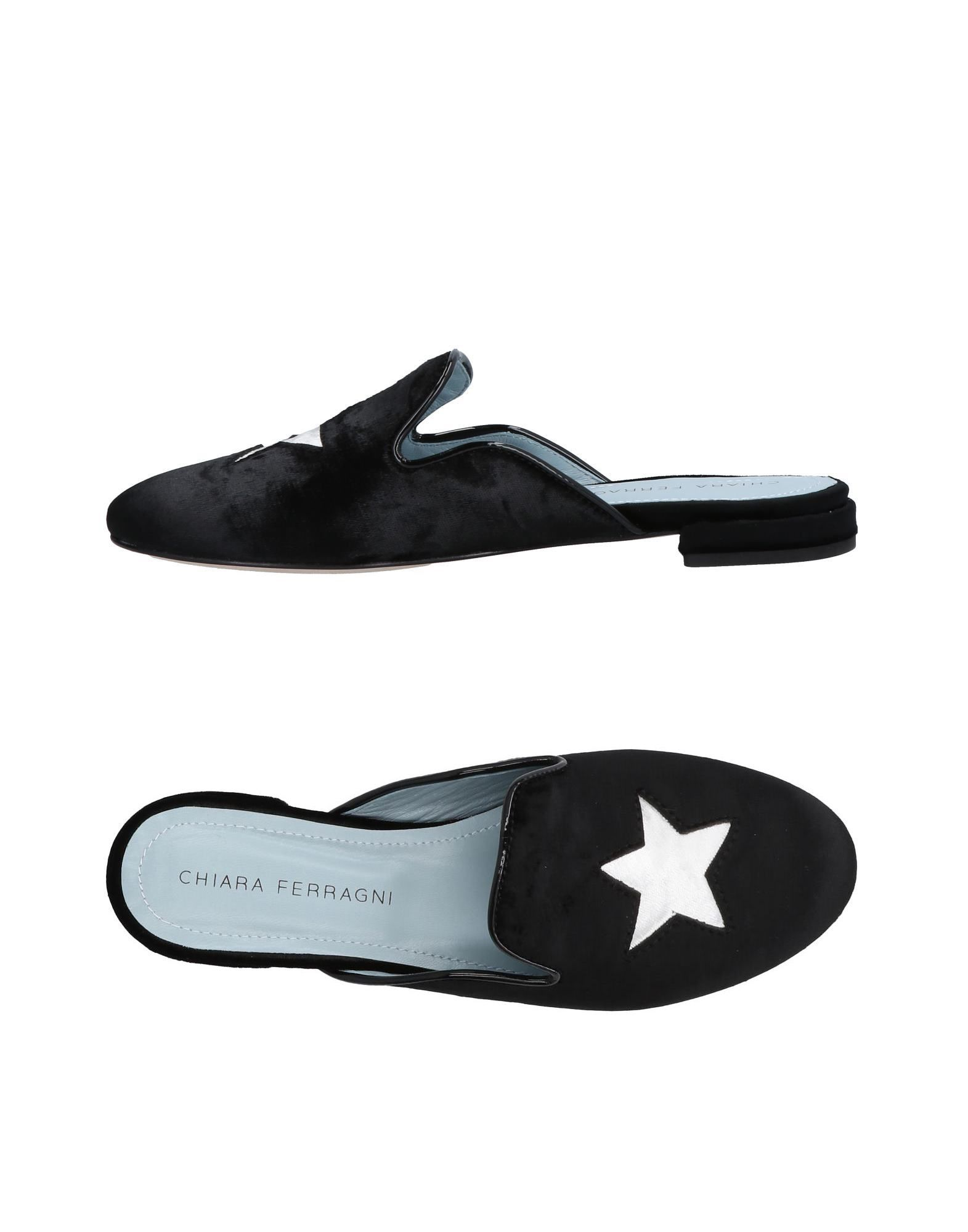 Stilvolle billige Schuhe Chiara Ferragni Pantoletten Damen  11494629QL