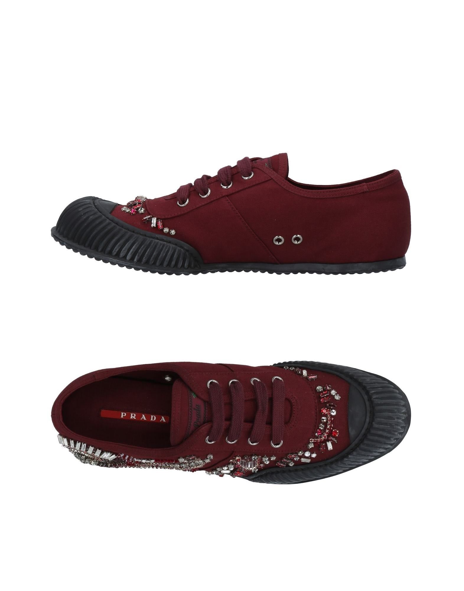Prada Sport Sneakers Damen aussehende  11494679OPGünstige gut aussehende Damen Schuhe 669a84