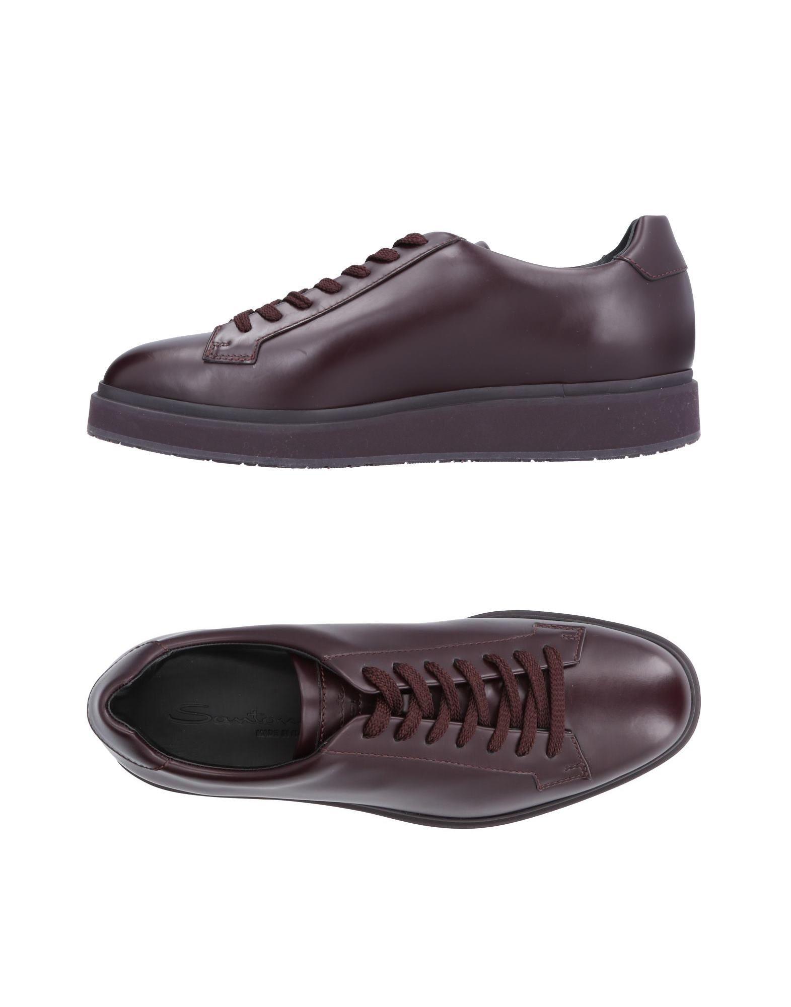 Haltbare Mode billige Schuhe Santoni Sneakers Herren  11494920EH Heiße Schuhe