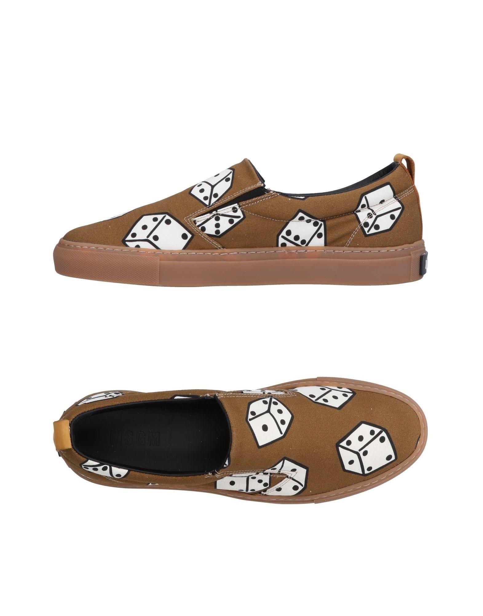 Rabatt echte Schuhe Msgm Sneakers Herren  11494947KH