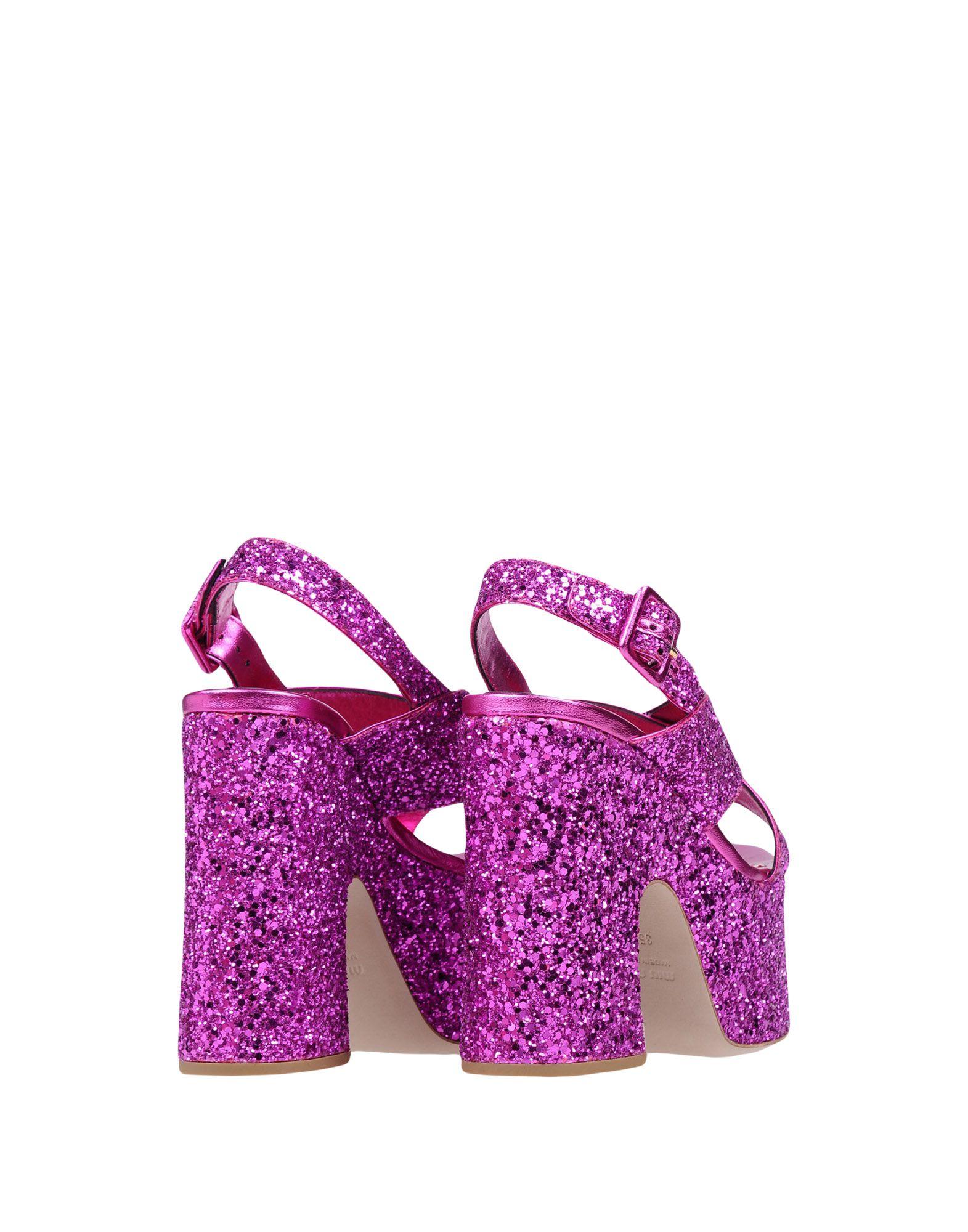 Miu Miu Sandalen Damen  Schuhe 11494969MD Beliebte Schuhe  502d5f