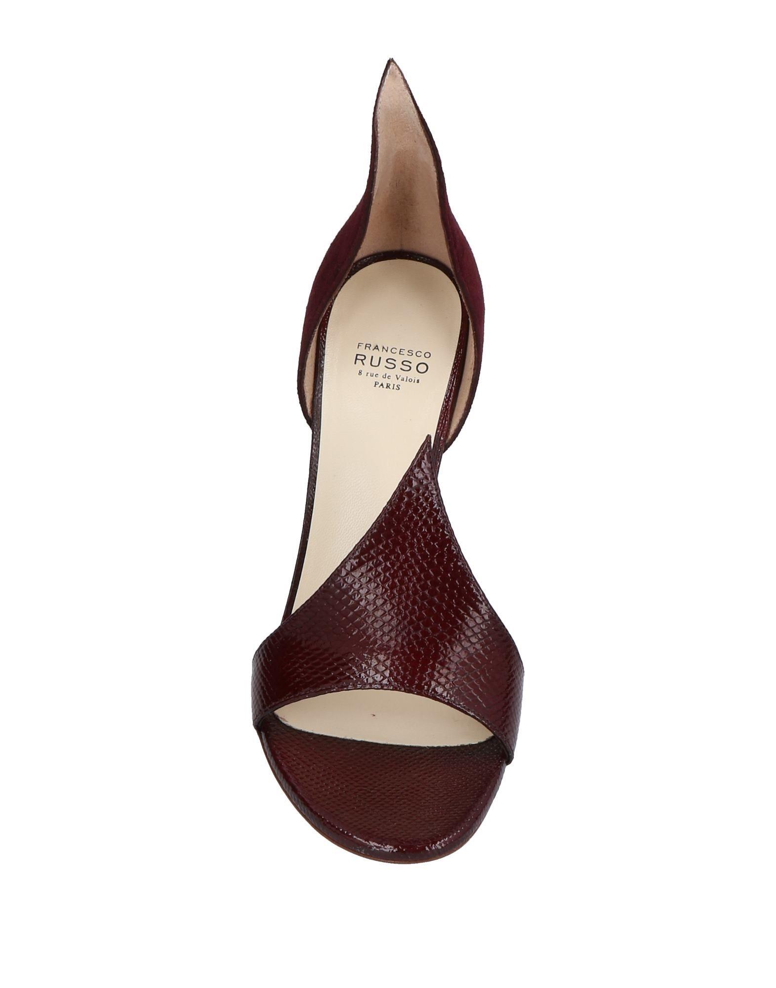 Francesco Russo Sandalen aussehende Damen  11495026MHGünstige gut aussehende Sandalen Schuhe c48517