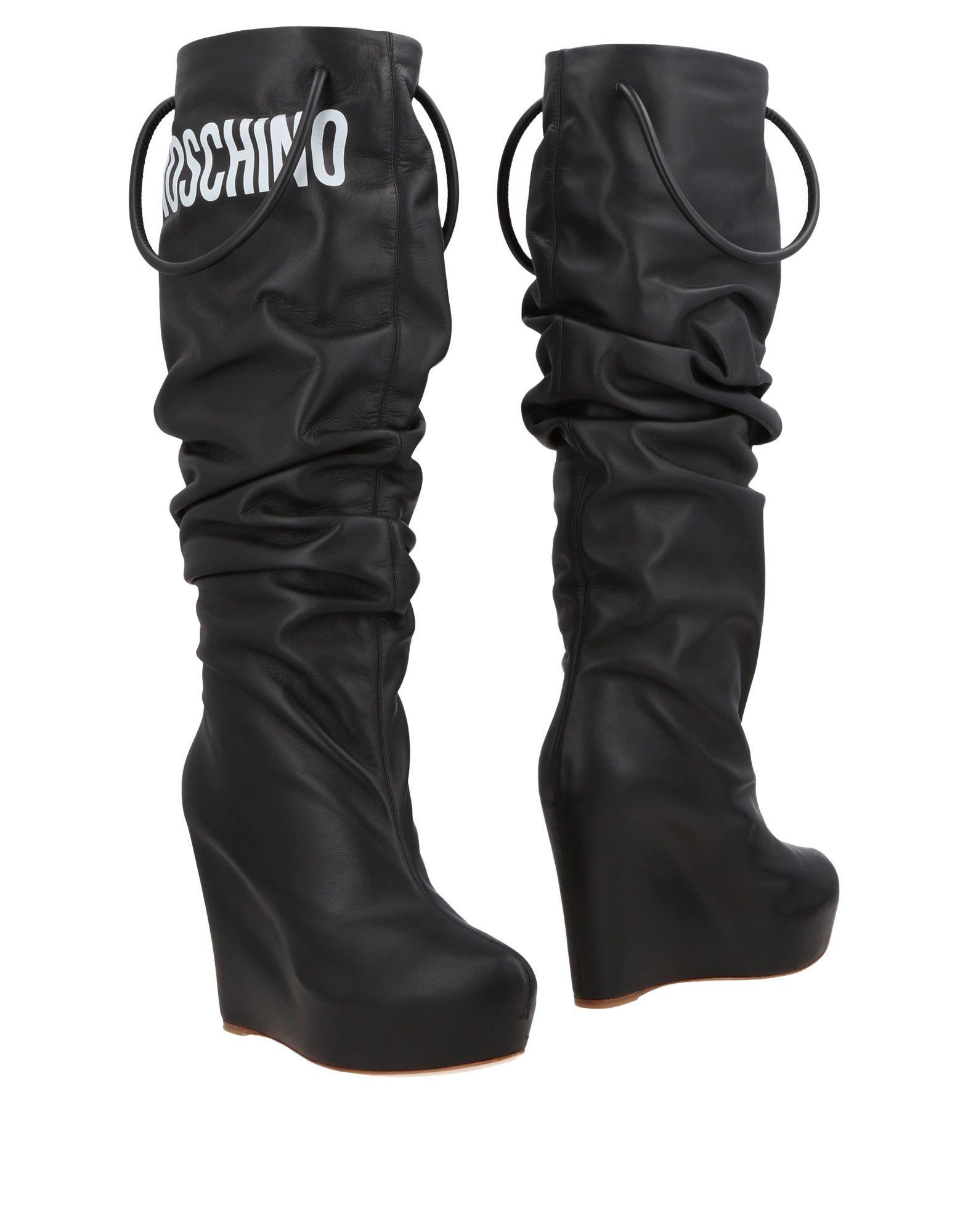 Moschino Stiefel Damen  11495600KCGünstige gut aussehende Schuhe
