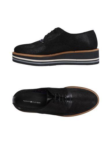 Zapato Mujer De Cordones Tommy Hilfiger Mujer Zapato - Zapatos De Cordones Tommy Hilfiger - 11495751JM Negro 0e9740