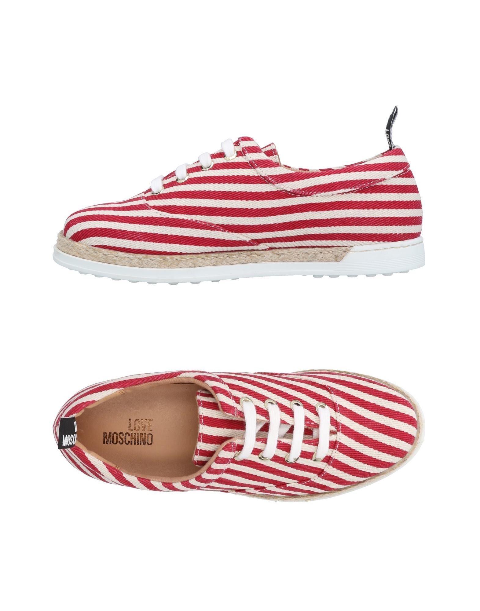Love Moschino beliebte Schnürschuhe Damen  11495791CH Gute Qualität beliebte Moschino Schuhe 1fde62