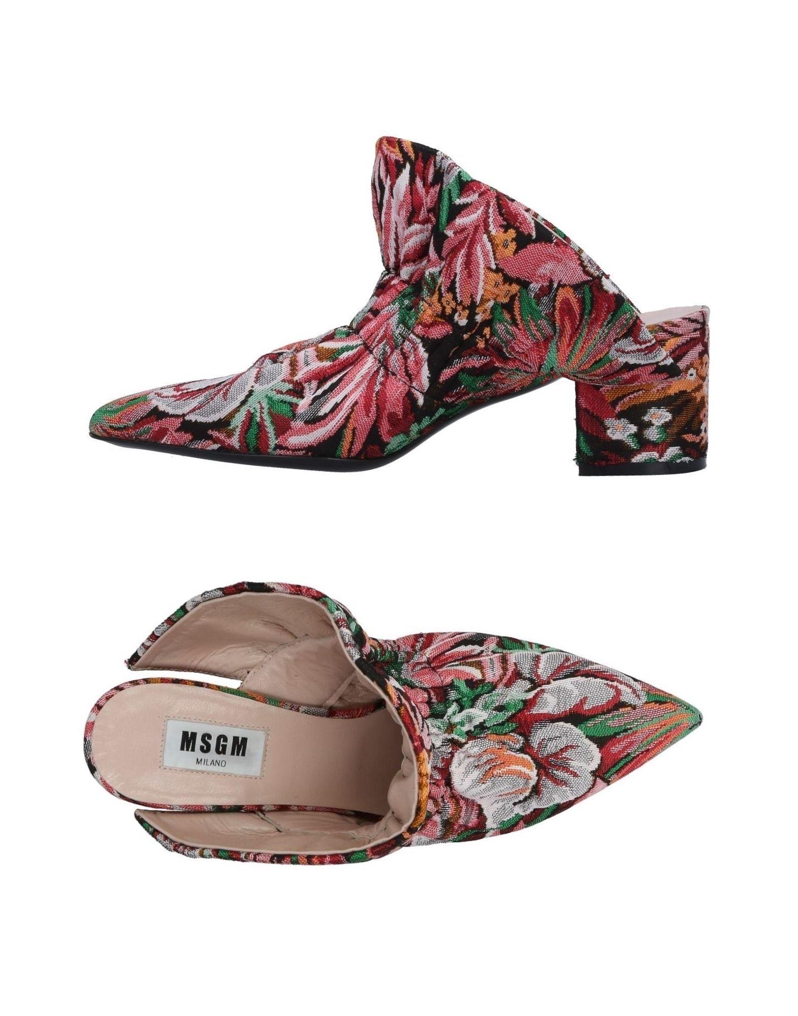 Msgm Pantoletten Damen  11495940MVGut aussehende strapazierfähige Schuhe