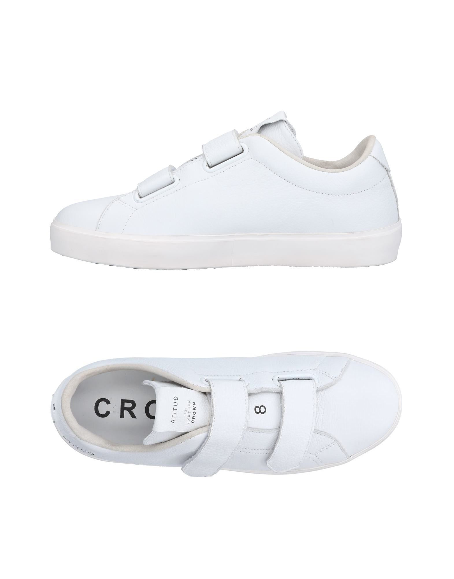 Sneakers Leather Crown Uomo - 11495956JB