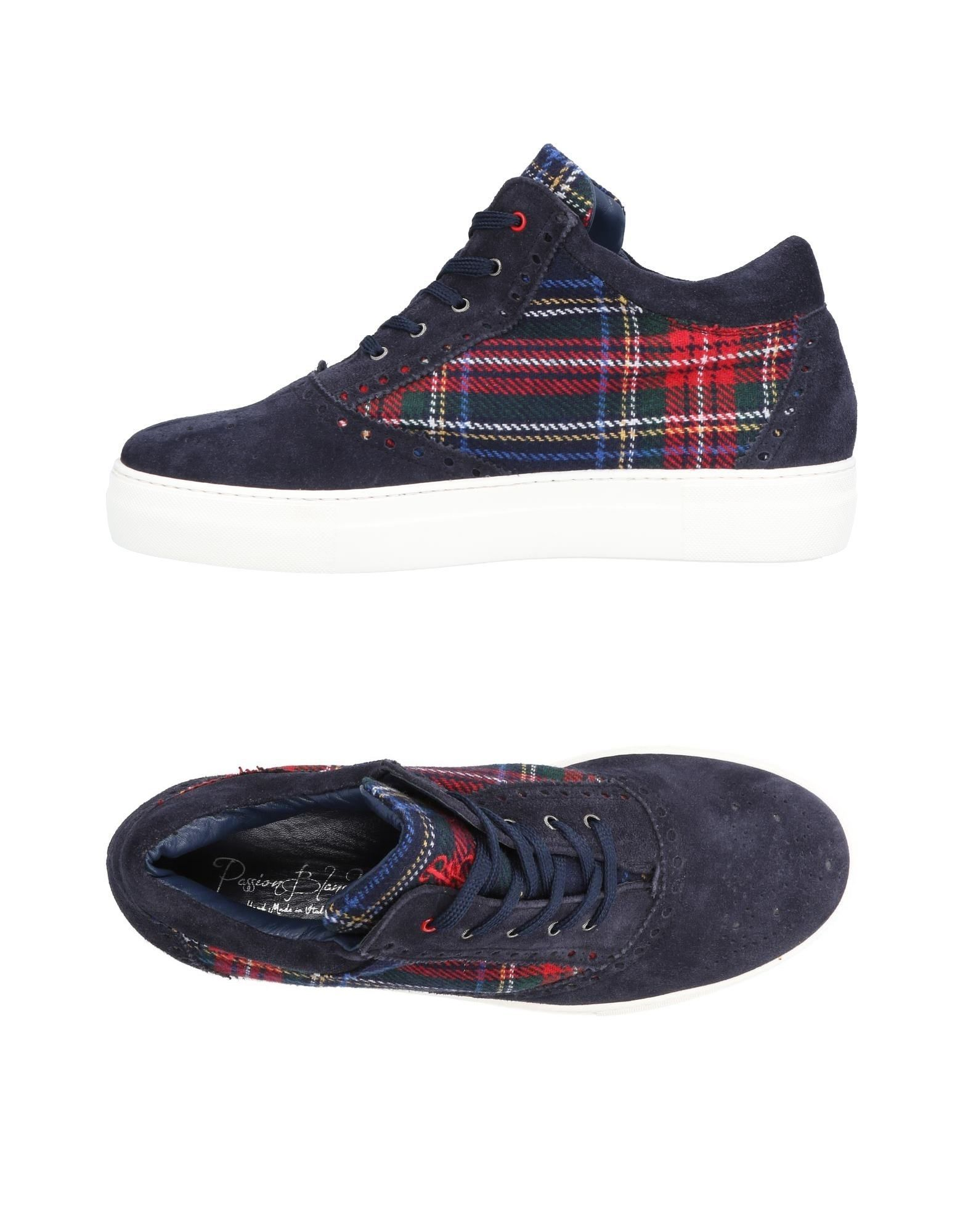 Rabatt echte Schuhe Schuhe Schuhe Passion Blanche Sneakers Herren  11495983QN af42a4