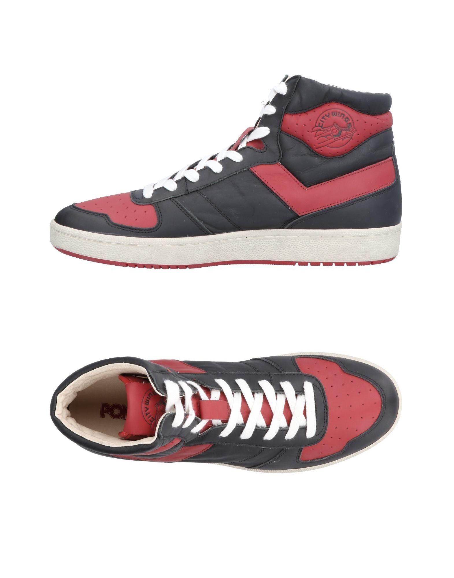 Rabatt echte Schuhe Pony Sneakers Herren  11496348VJ