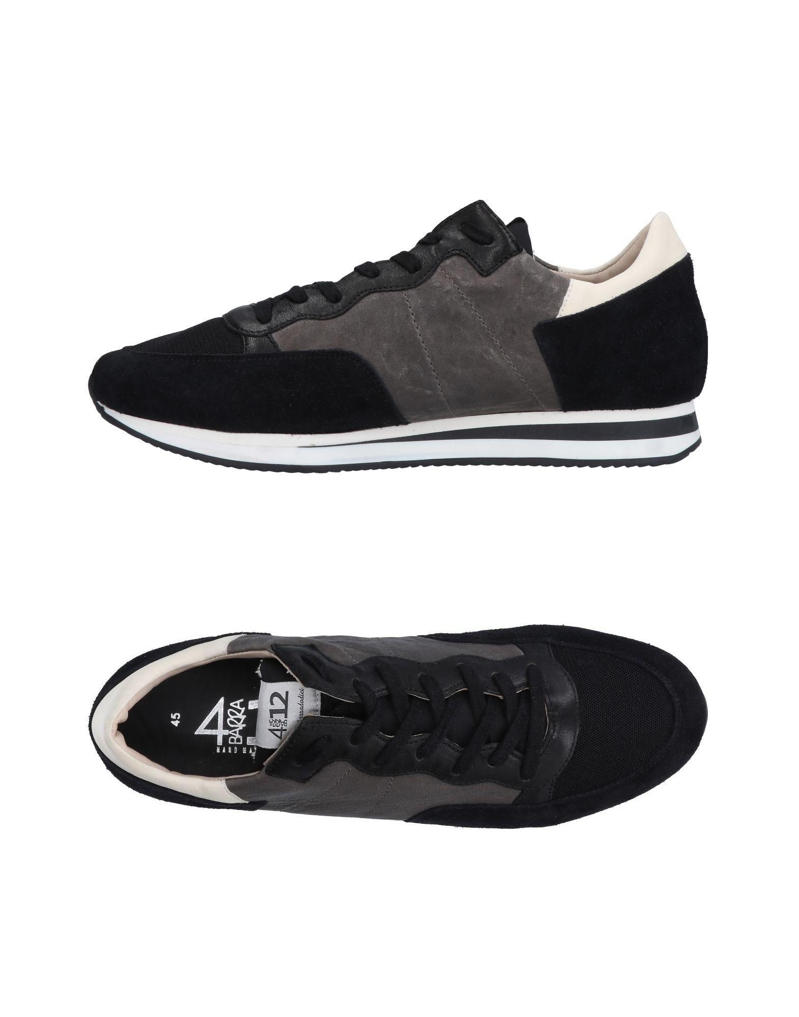 Rabatt echte Schuhe Quattrobarradodici Sneakers Herren  11496376PA