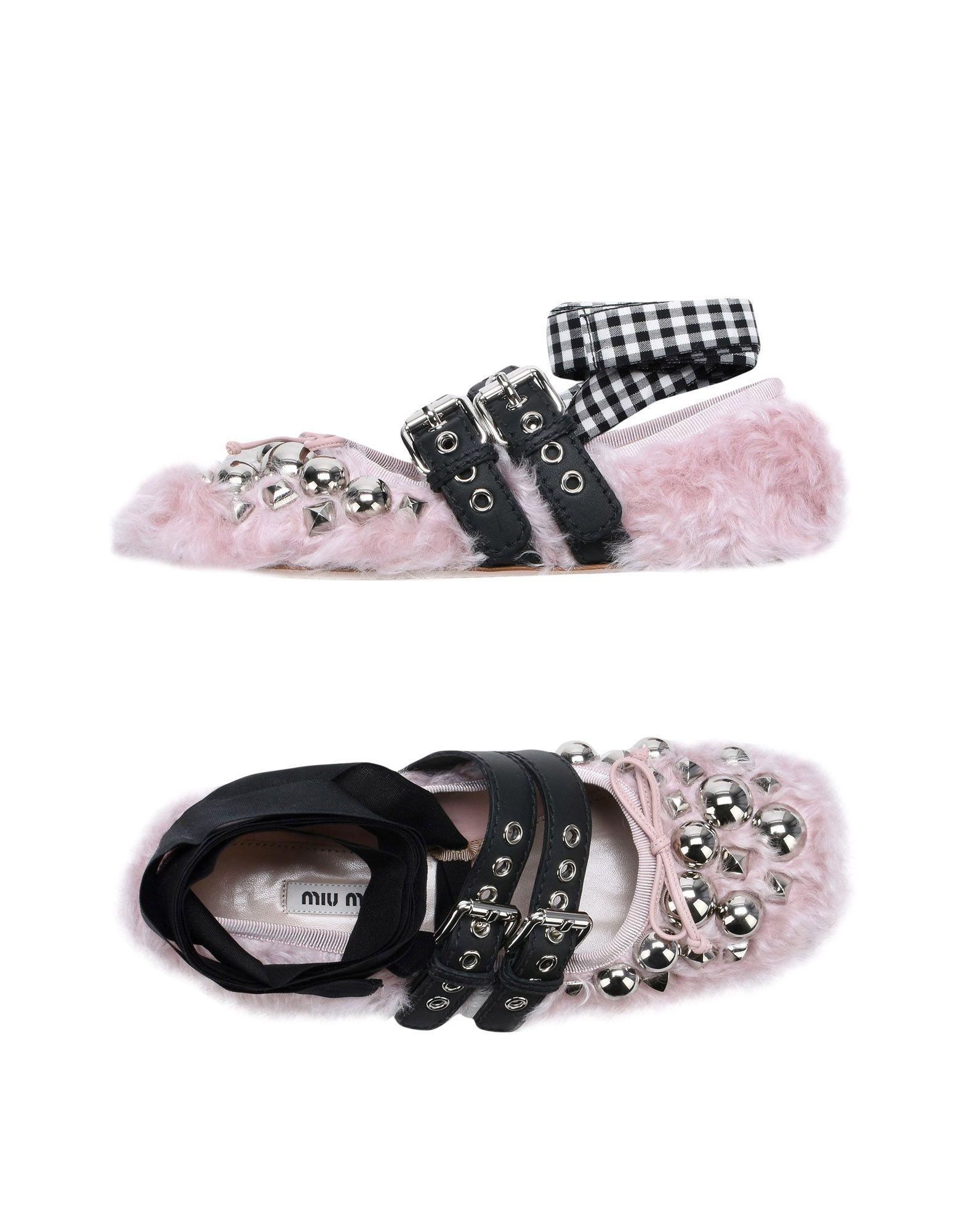 Miu Miu Ballerinas Damen  11496417WLGünstige gut aussehende Schuhe