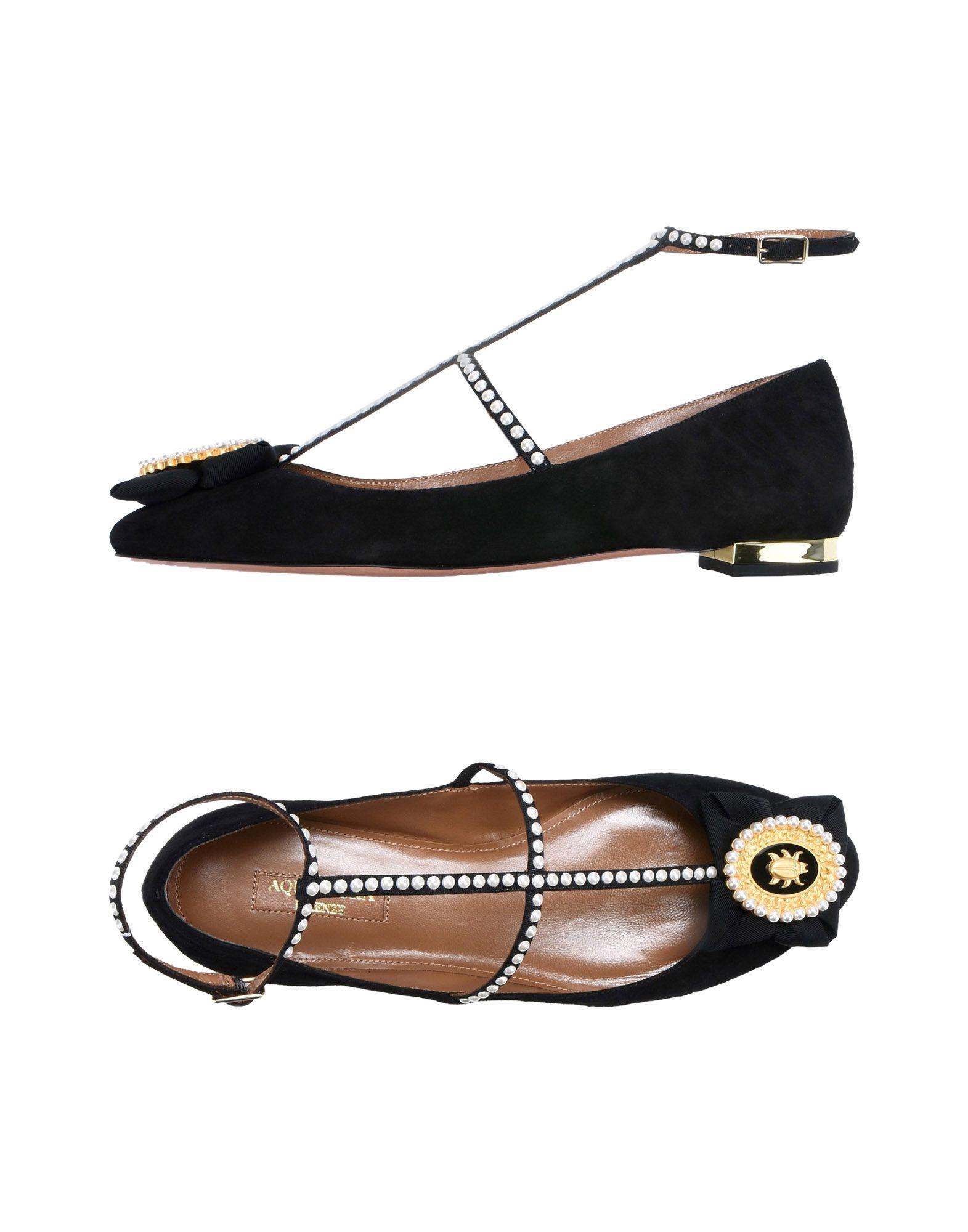 Haltbare Mode billige Schuhe Aquazzura Ballerinas Damen  11496477XK Heiße Schuhe