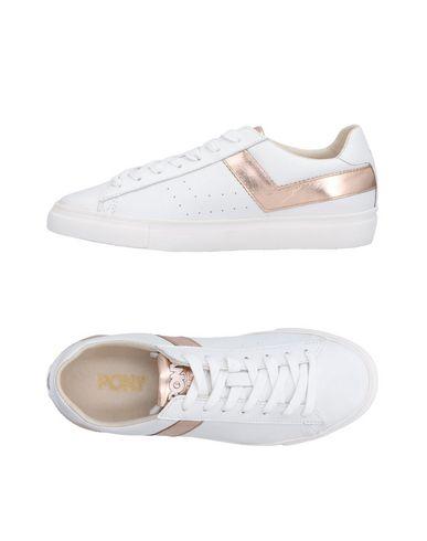 Cómodo y bien parecido Zapatillas Pony Mujer - Zapatillas Pony   - 11496532VO Blanco