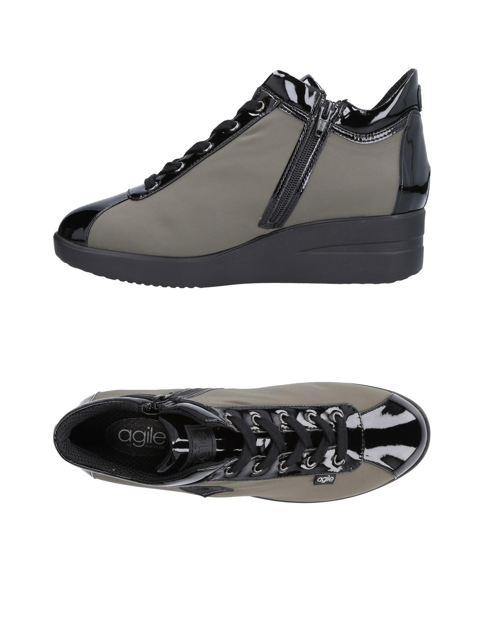 Baskets Agile By Rucoline Femme - Baskets Agile By Rucoline Gris Dernières chaussures discount pour hommes et femmes