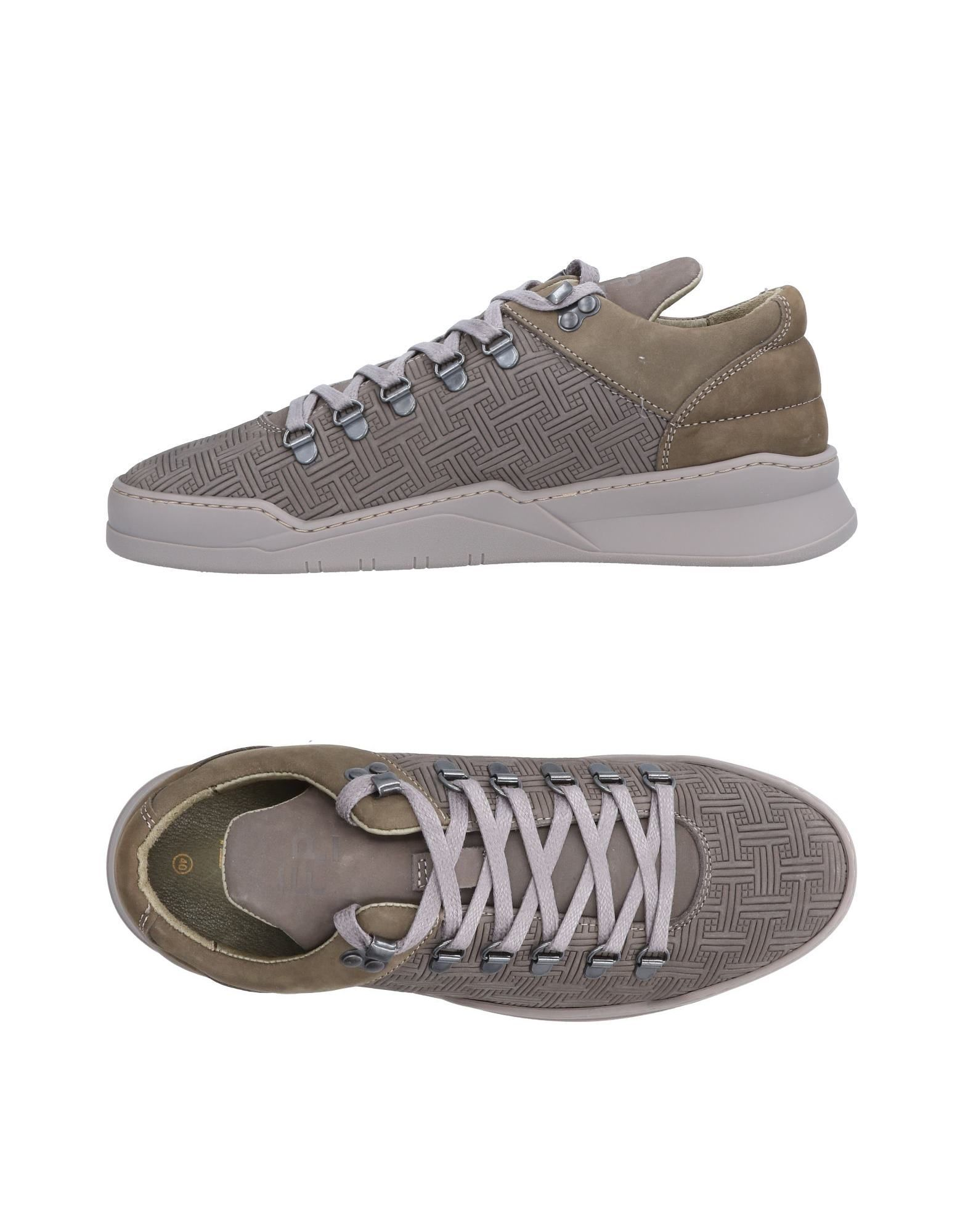 Sneakers Filling Pieces Homme - Sneakers Filling Pieces  Plomb Confortable et belle
