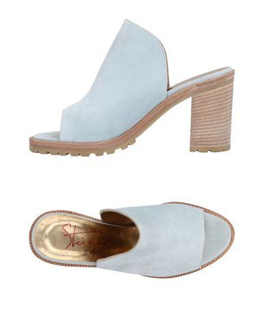WALTER STEIGER Sandals in Sky Blue
