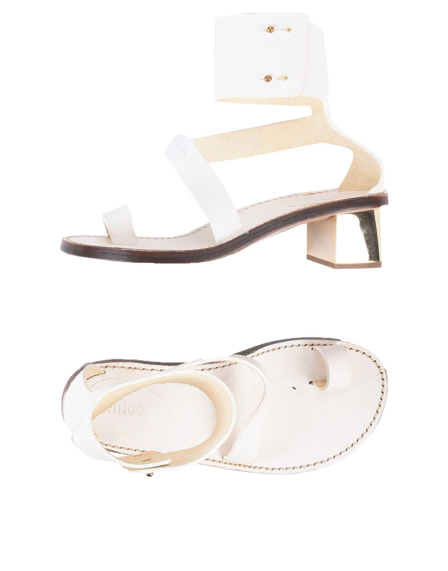 Chloé Dianetten aussehende Damen  11496885HJGünstige gut aussehende Dianetten Schuhe 847d1d