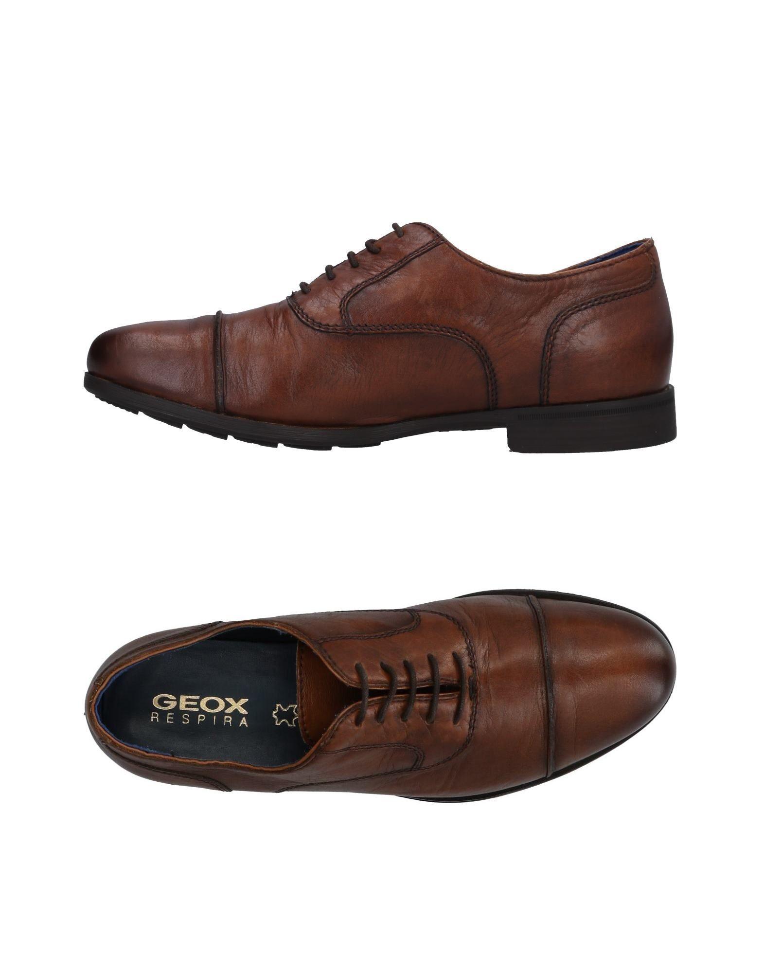 Rabatt echte Schuhe Geox Schnürschuhe Herren  11496997IS