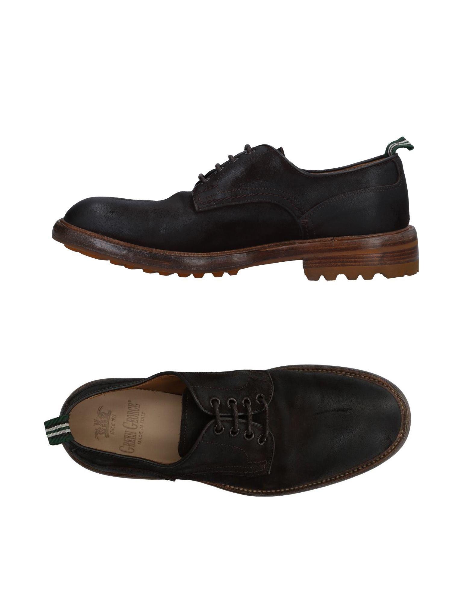 Rabatt echte Schuhe Green George Schnürschuhe Herren  11497201TN