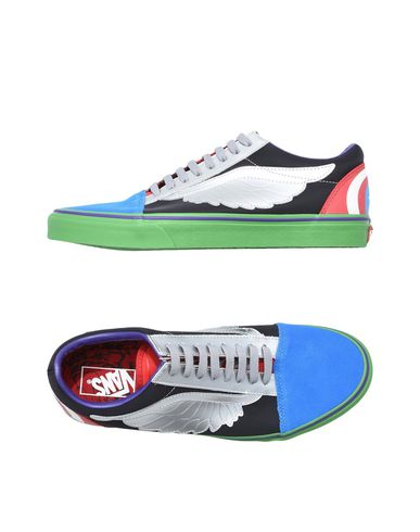 56829c0774a8 Vans Marvel Old Skool - Sneakers - Men Vans Sneakers online on YOOX ...
