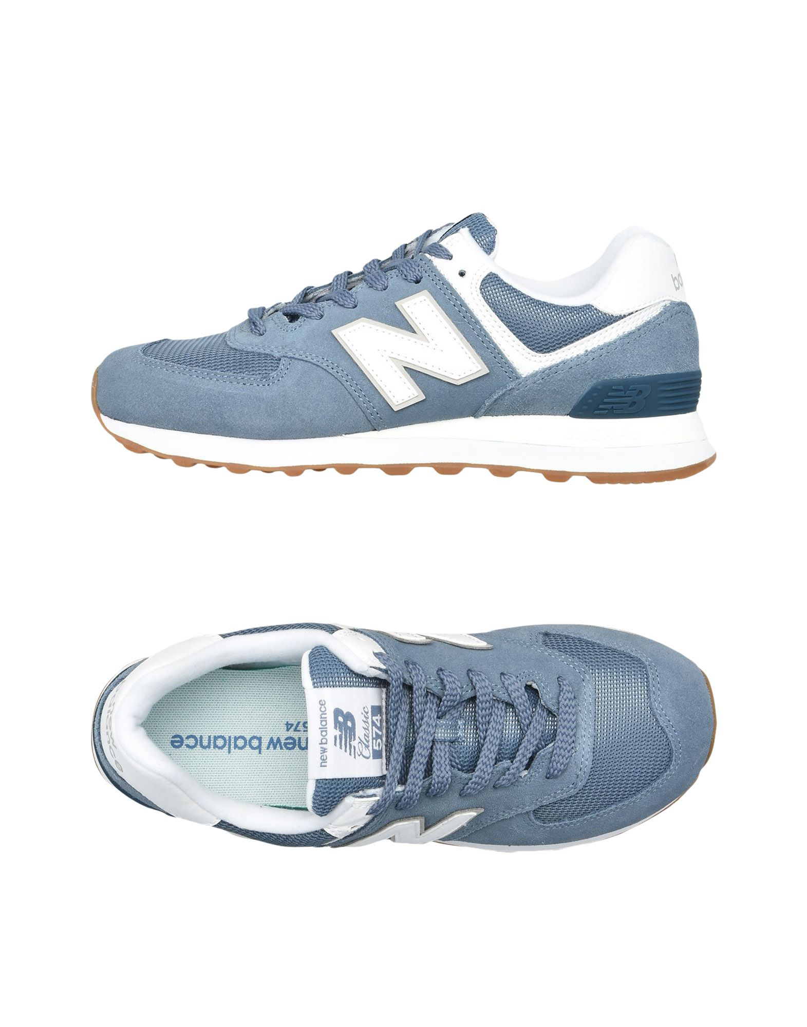 New Balance 574 Suede Sneakers Mesh Core Plus - Sneakers Suede - Women New Balance Sneakers online on  Canada - 11497540EX adb775