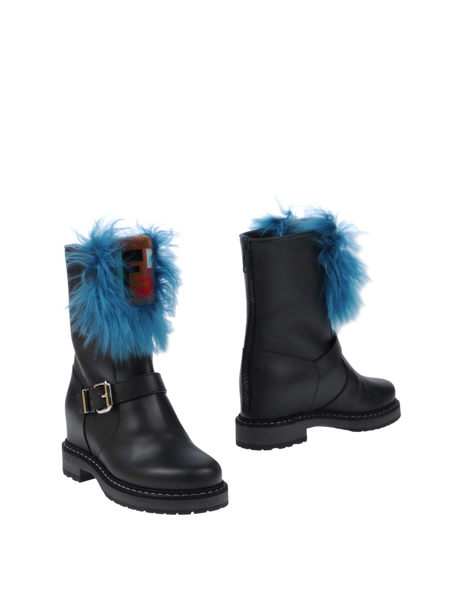 Haltbare Mode billige Schuhe Fendi Stiefelette Damen  11498104CC Heiße Schuhe