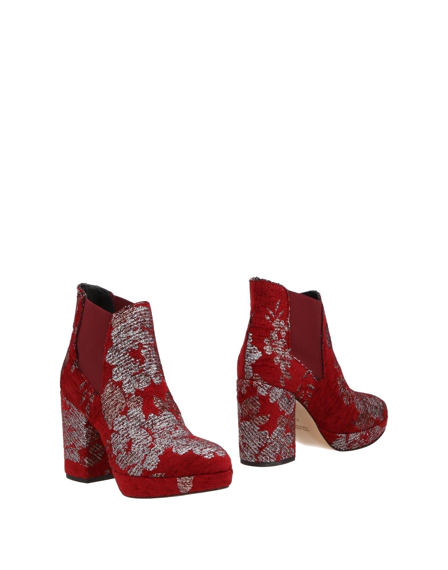 Chelsea Boots Rose' A Pois Donna - 11498116LI