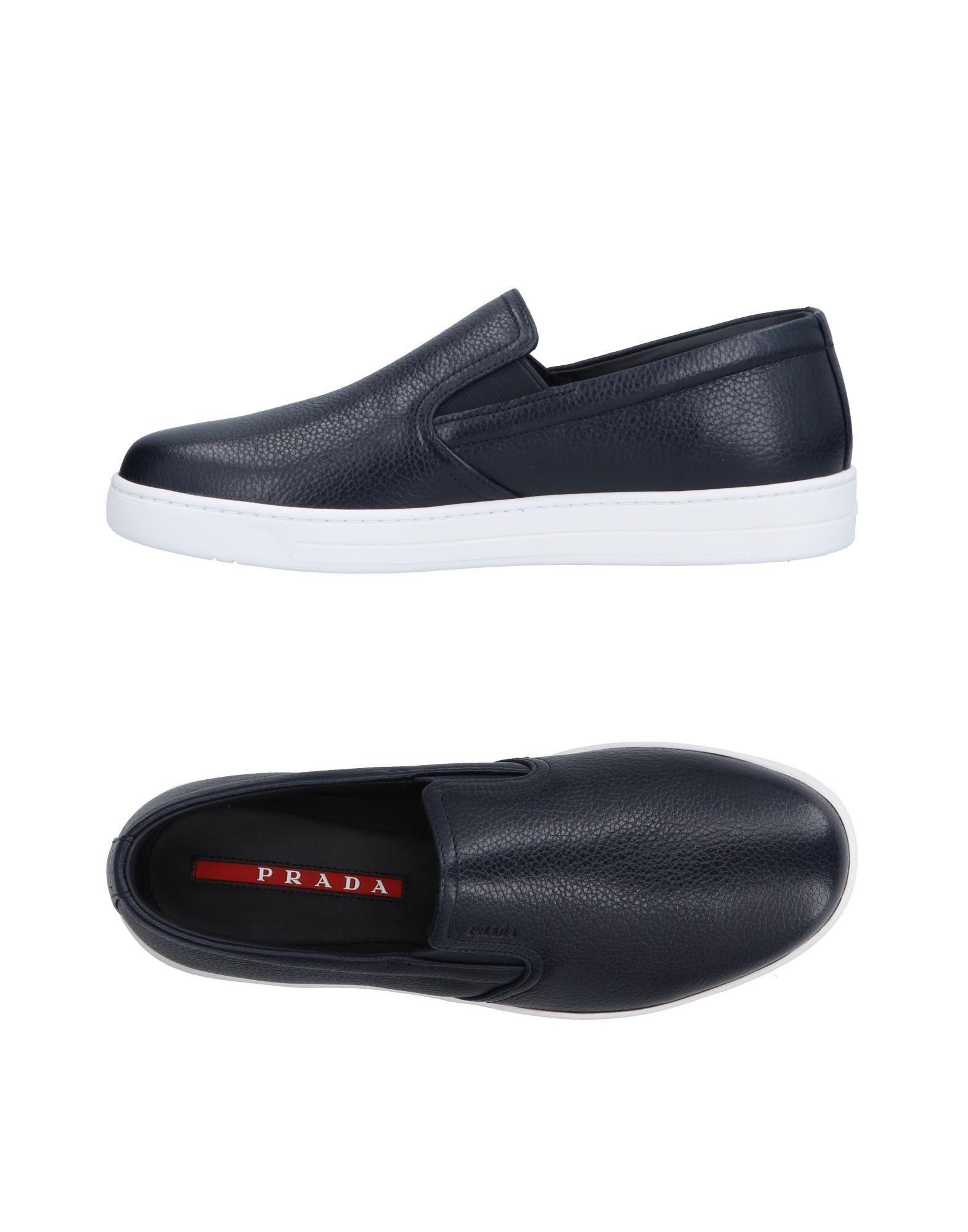 Sneakers Prada Sport Homme - Sneakers Prada Sport  Bleu foncé Nouvelles chaussures pour hommes et femmes, remise limitée dans le temps