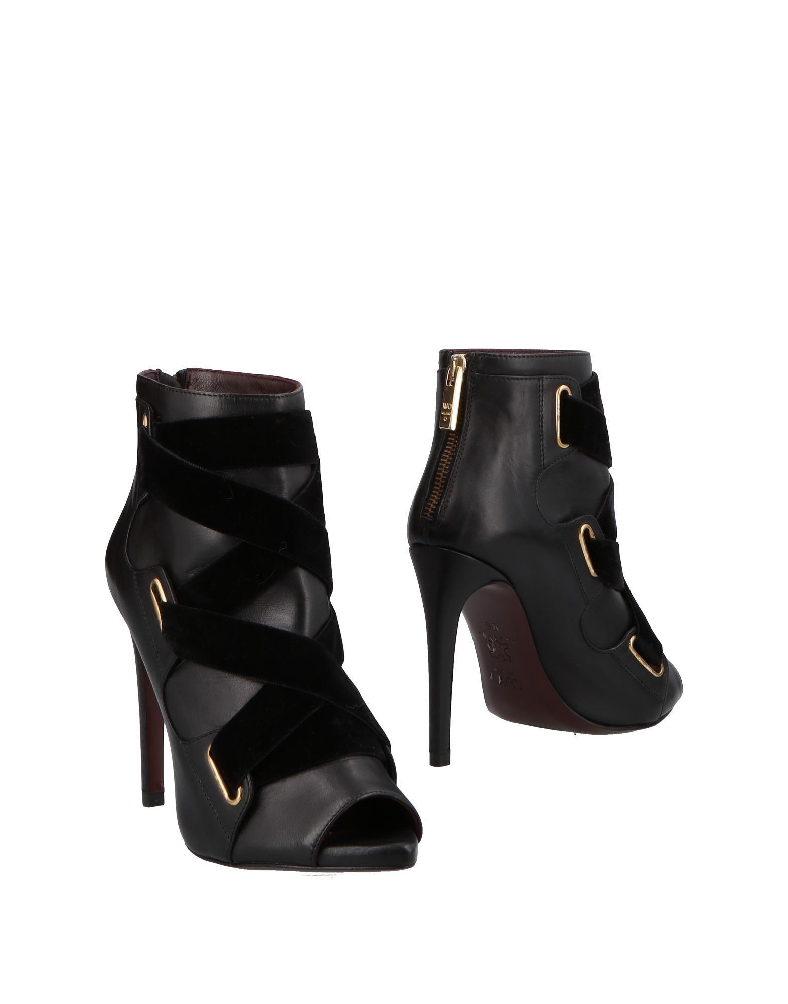 Gut um billige Schuhe zu tragenWo Milano Stiefelette Damen  11498397SI