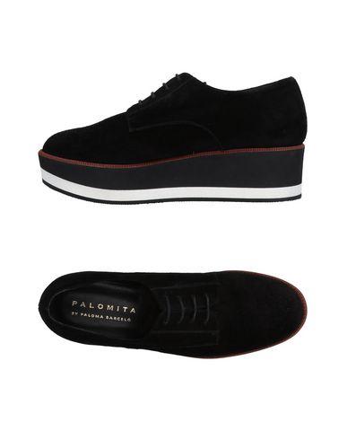 Zapatos de hombre y mujer de promoción por tiempo limitado Zapato De Cordones Palomitas By Paloma Barceló Mujer - Zapatos De Cordones Palomitas By Paloma Barceló - 11498722FE Negro