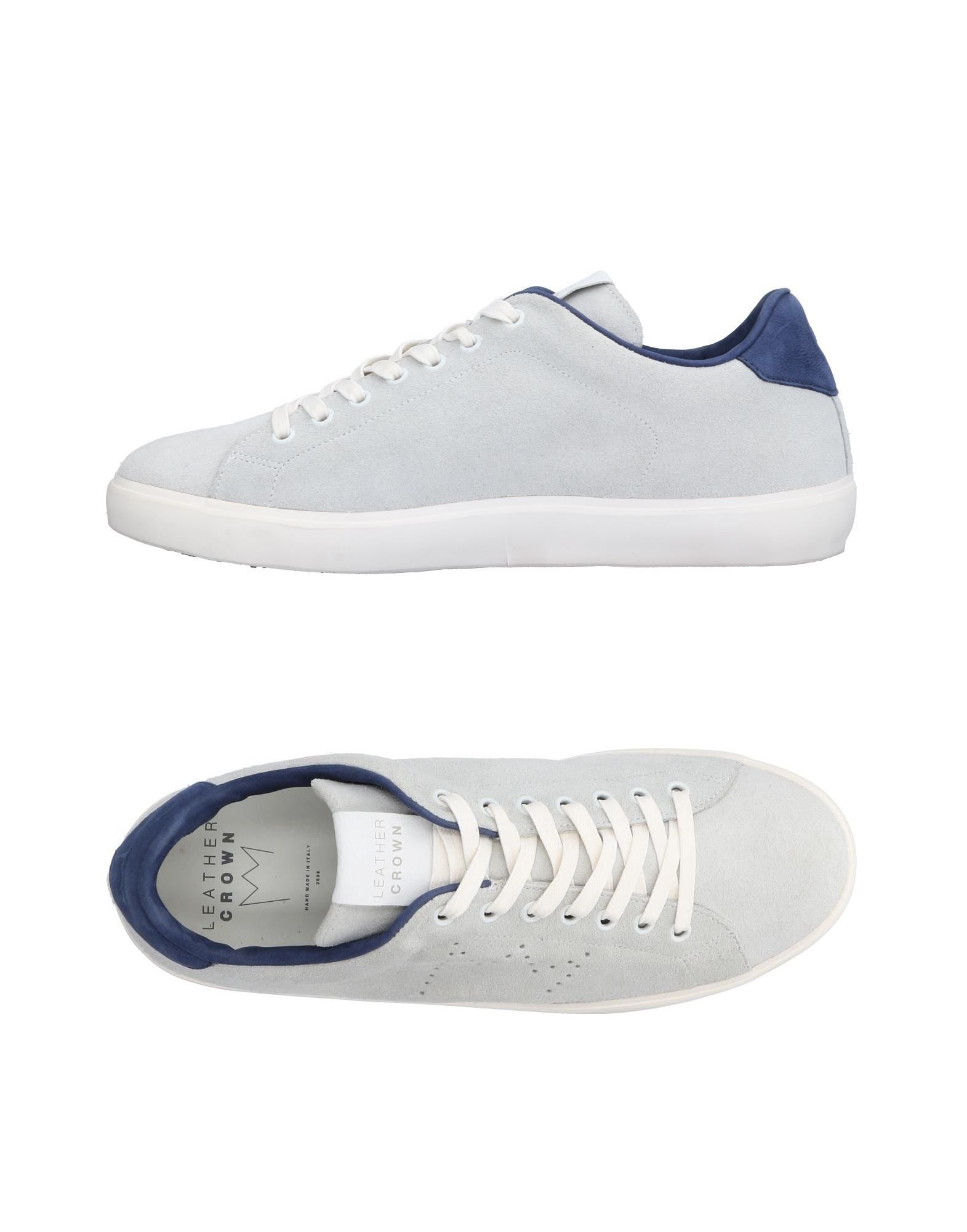 Sneakers Leather Crown Uomo - 11498728BS