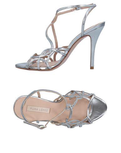 Zapatos casuales salvajes - Sandalia Pura López Mujer - salvajes Sandalias Pura López - 11498780WN Plata 380a37
