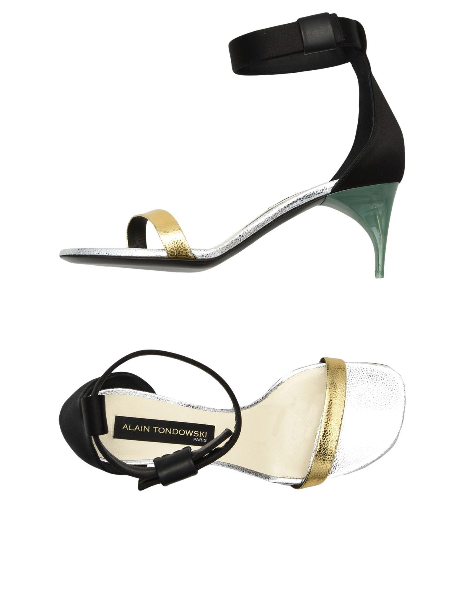 Rabatt Schuhe Alain Tondowski Sandalen Damen  11499072FR