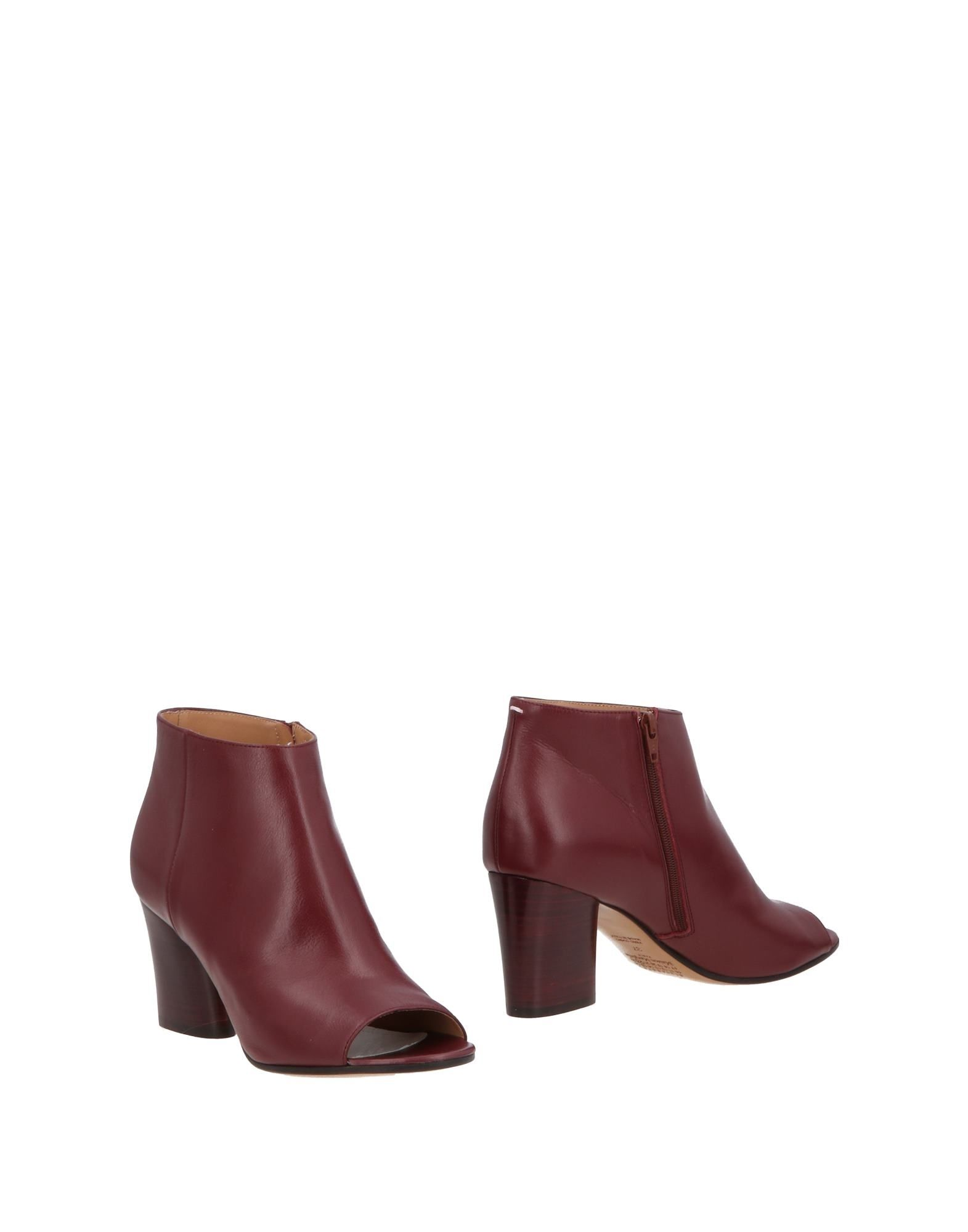 Bottine Maison Margiela Femme - Bottines Maison Margiela Bordeaux Chaussures casual sauvages