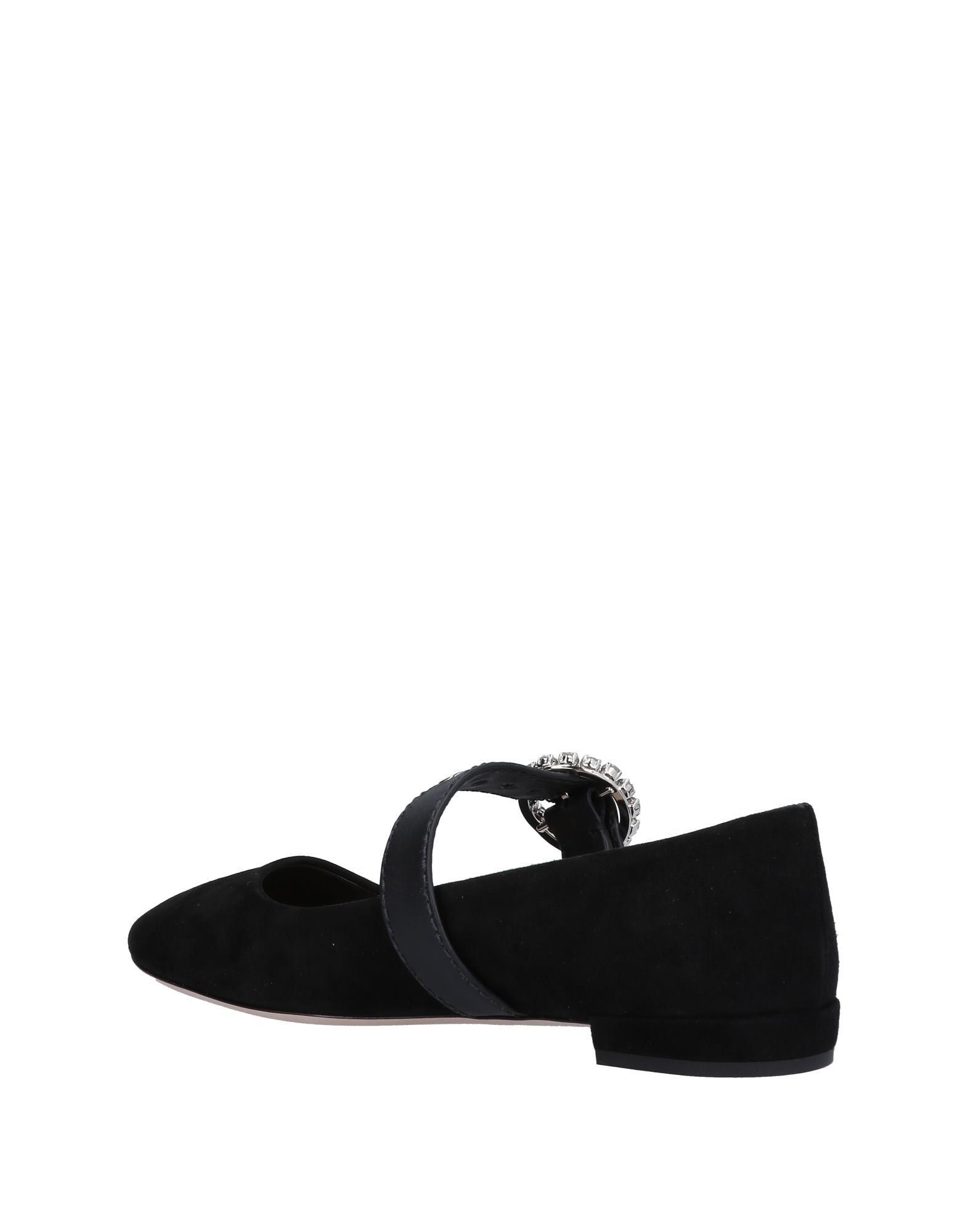 Miu Miu Ballerinas Damen aussehende  11499572ARGünstige gut aussehende Damen Schuhe 169813